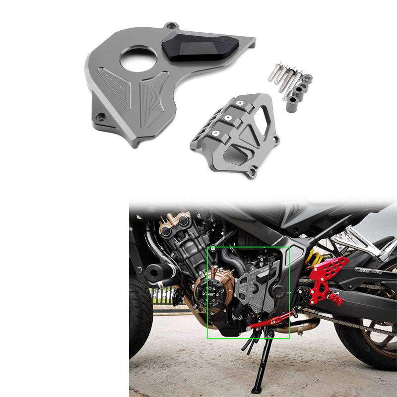 Motorcycle Side Cover CNC Aluminum Alloy Engine Protection Engine Stator Cover for Honda CBR650F CB650F CB650R 2014-2020