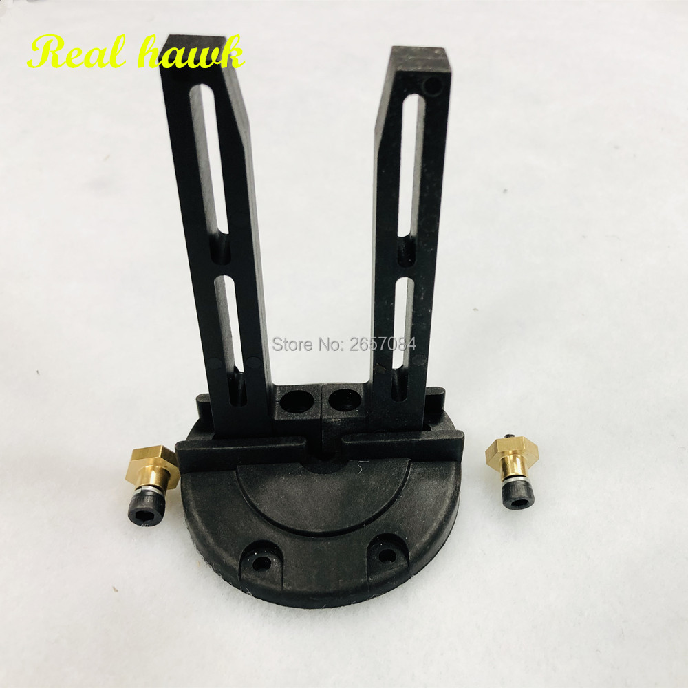 model aircraft fixed wing Round Base Adjustable Engine Mounts For Nitro OR Gasoline Engine RC Airplanes Parts Model image