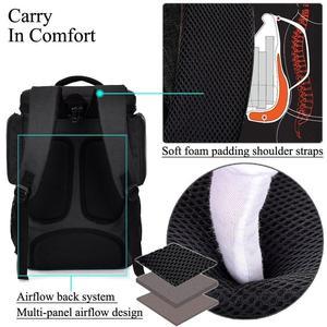 Image 3 - Zaino del computer portatile per 18 notebook da 18.4 pollici uomo delle donne di grande capacità di borsa da viaggio sacchetto di affari per Lenovo sony