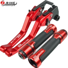 Motorcycle Accessories For DUCATI MULTISTRADA1200 MULTISTRADA 1200 10 16 2011 2012 2013 14 Brake Clutch Levers And Handle Grips