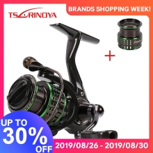 TSURINOYA Ultra-light Spinning Reel Fishing Kingfisher 800 1000 162g Spare Spool 10   1BB Carbon Fiber Body vissen Lokken Reel