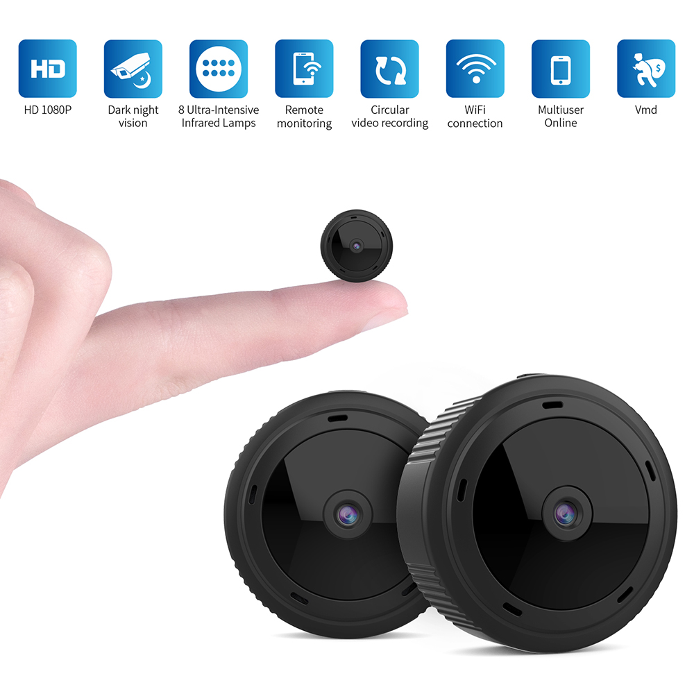 Wifi Mini Camera HD 1080P Night Vision Detection Motion micro Camera Remote Home Security Camcorder Wireless Surveillance Cam