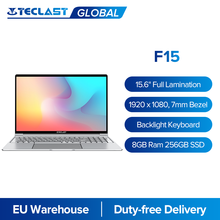 Teclast f15 windows 10 portátil 15.6 keyboard keyboard teclado retroiluminado 1920x1080 fhd intel gemini lago n4100 8gb ram 256gb ssd notebook