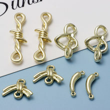10pcs DIY Pendants Charms Handmade Pendant for Necklace Key Chain Earrings Connector Jewelry Making Accesories