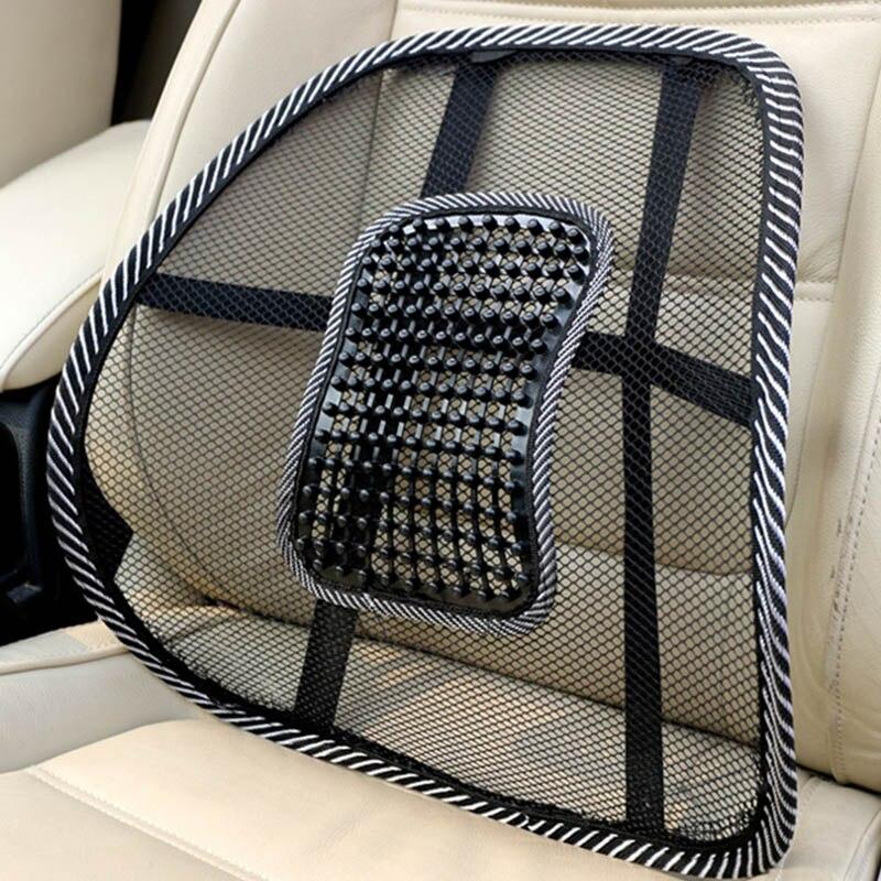 Автомобильный стул, Массажная подушка для спины, поясничный бандаж для автомобиля, грузовика, офиса, дома|Опоры сидений|   | АлиЭкспресс