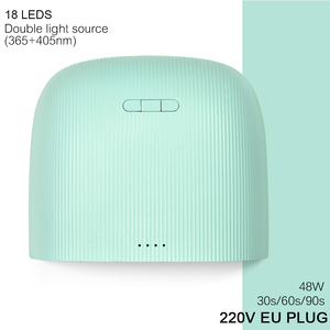 Image 5 - KADS 48W UV מנורת Led עבור כל סוגי ג ל 30 נוריות UV לציפורניים מכונה ריפוי 5S/30s/60s טיימר LED נייל מנורת