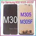Для Samsung M30 ЖК-экран M305 M305F с сенсорным экраном с рамкой в сборе запасные Запасные Запчасти