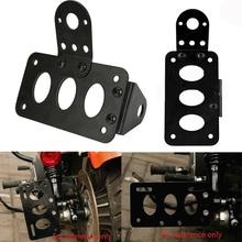 1Pc Strong Motorcycle License Plate Holder Bracket for Harley Bobber Chopper Accessories