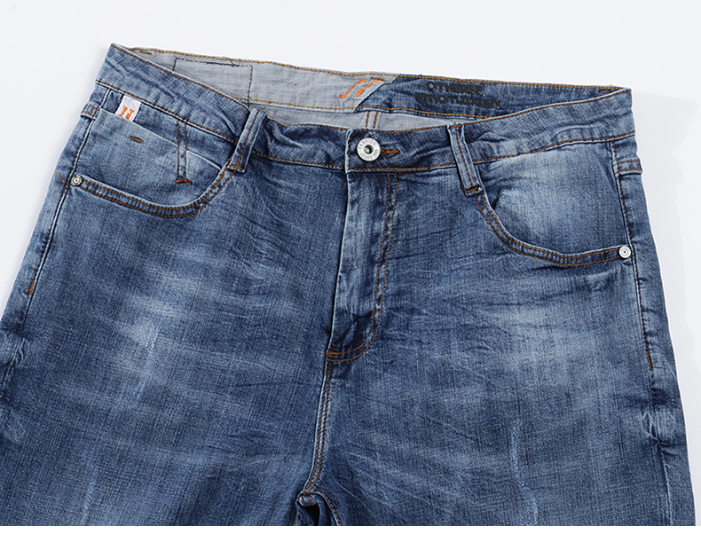 KSTUN Fashion Biker Jeans Men New Design Ultrathin destroyed Man Rip Jean Slim Fit Hiphop Stretch Blue Casual Denim Pants High Quality 13