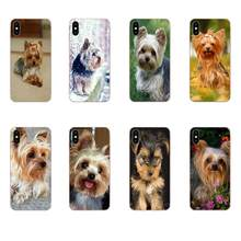 TPU Best Cases For Galaxy Grand A3 A5 A7 A8 A9 A9S On5 On7 Plus Pro Star 2015 2016 2017 2018 Yorkshire Terrier Yorkie Dog Puppy(China)
