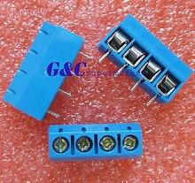 30 шт KF301-4П 5,08 мм 4-контактный подключение клеммы винтовые клеммы разъем DIY электроники