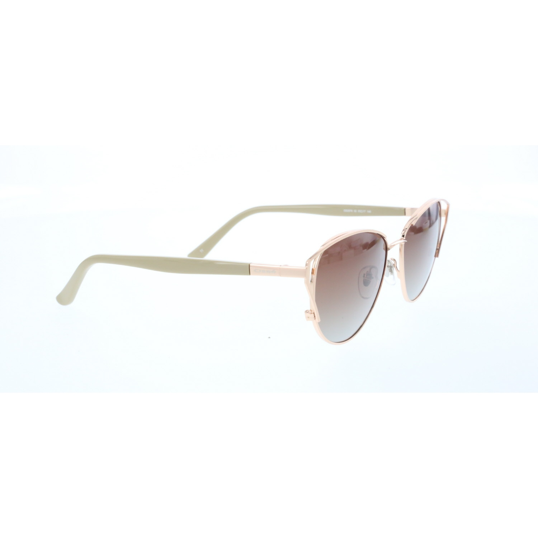 Women's sunglasses os 2978 02 metal gold organic butterfly cat eye 55-17-140 osse