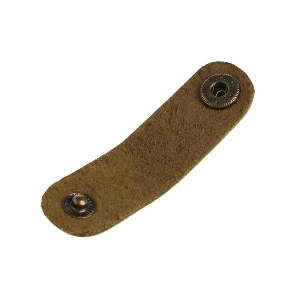 1pcs Nieuwe Kunstleer Kabel Cord Organizer Clip Wrap Spoel Oortelefoon Draad Winder Tool