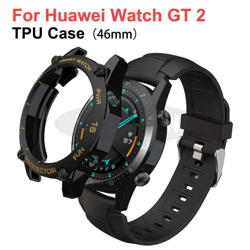 Protect Cover For Huawei Watch GT2 46mm Case Bumper For Watch GT 2 46mm Shell Protector Smart Watch Accessorie