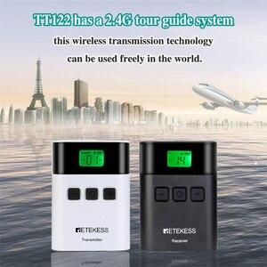 Image 2 - Беспроводная система туристического гида RETEKESS TT122, 1 передатчик + 10 приемников для церковной фабрики, тренировочный туристический гид, правительственная встреча