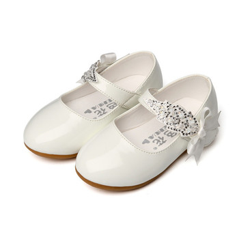 1 2 3 4 5 6 7T Baby Girls Leather Shoes Flower Kids Princess Shoes Girls Cocktail Party Shoes For Baby Girls Wedding Dress Shoes пати бум колпак party girls 6 шт