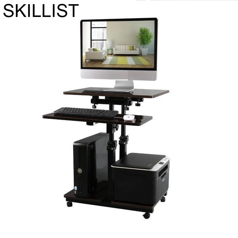 Ufficio Small Biurko Tafelkleed Stand Laptop Schreibtisch Bed Mesa Notebook Office Tablo Adjustable Study Table Computer Desk