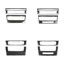 for BMW 3 Series E90 E92 E93 Accessories Car Interior Carbon Fiber Air Conditioning CD Panel Cover Trim Decorations for bmw 3 series e90 e92 e93 accessories car interior carbon fiber air conditioning cd panel cover trim decorations