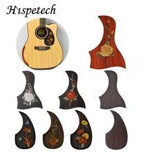 Гитарные детали hisetech 1 шт деревянные клещи с цветочным узором
