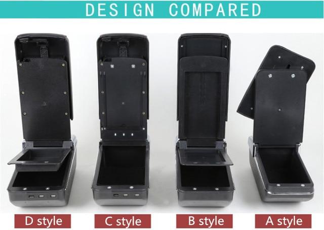 Автомобильный подлокотник для renault clio 4 iv автомобильные