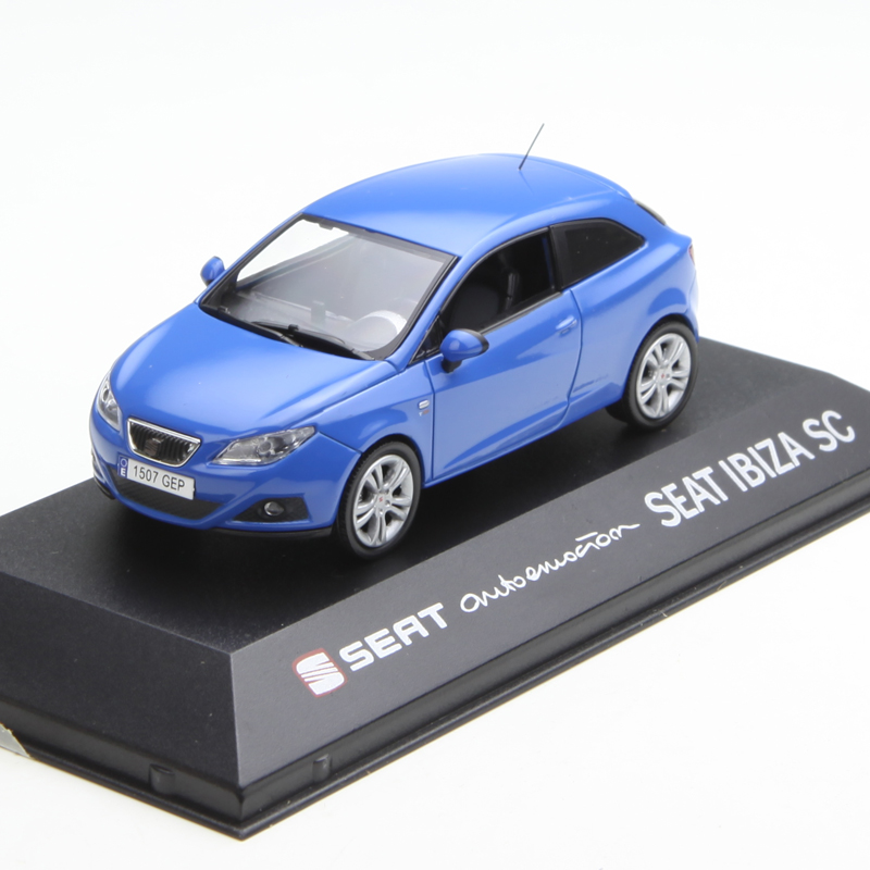 1:43 Diecast Model For Seat Leon Ibiza SC Toledo Alloy Toy Car Miniature Collection Gifts
