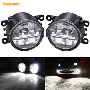 LED Fog Light For Subaru Forester WRX STI Outback BRZ Impreza Justy Levorg XV Legacy Car Front Bumper Fog Lamp DRL 30W 12V