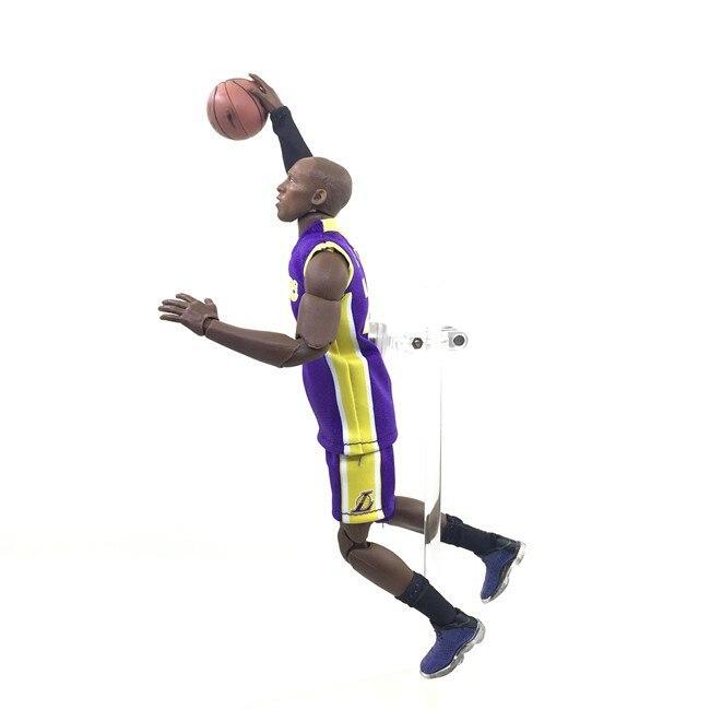 NBA Basketball Star Real Person Clothes 24 Purple Kobe Bryant Garage Kit Model Mobile Doll