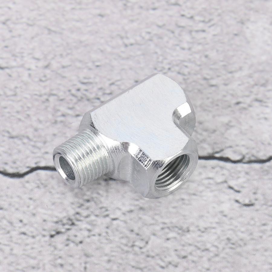 1//8 3 Way Oil-water Sensor Pressure Gauge And Adapter T Type Tee Pipe Fitting Adapter Tee Pipe Fitting