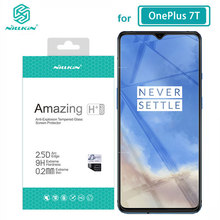 الزجاج المقسى ل OnePlus 7T One Plus 7T 6.41 NILLKIN مذهلة H/H + PRO/XD + 9H واقي للشاشة OnePlus 7T الزجاج