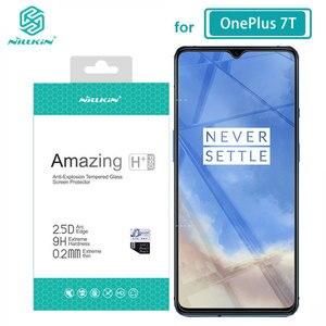 Image 1 - الزجاج المقسى ل OnePlus 7T One Plus 7T 6.41 NILLKIN مذهلة H/H + PRO/XD + 9H واقي للشاشة OnePlus 7T الزجاج