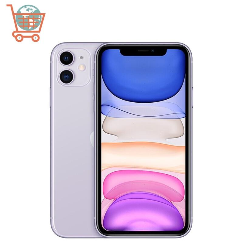 Hot Unlocked iPhone 11 6.1 inch Full OLED Display 4G LTE Dual camera Smart Phone 64/128/256gb ROM A13 used phone MI BlueTo|Cellphones| - AliExpress