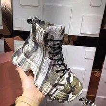 Стильная женская повседневная обувь; удобная обувь на платформе; женские кожаные кроссовки; женская обувь инструкторов; Femme