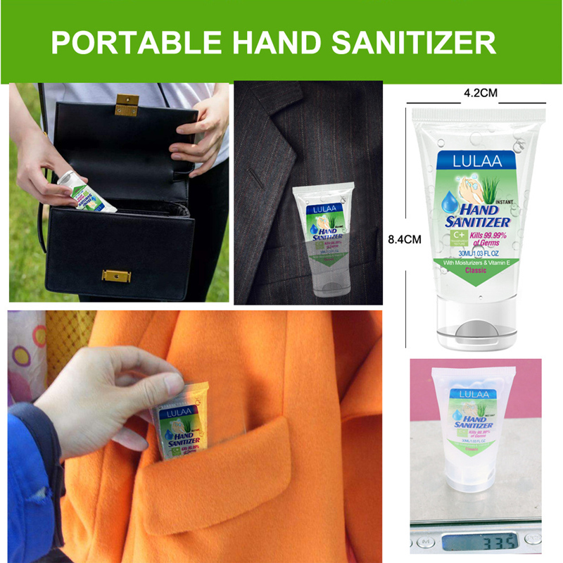 Qianyun Hand Sanitizing Gel Portable Antibacterial Alcohol Gel Disinfectant Antibacterial Soap Dispenser Antiseptics For Hands