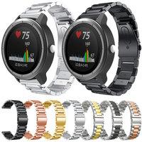 18MM 20MM 22MM Strap Für Garmin Vivoactive 3 4 4S Smart Uhr Band Edelstahl Metall strap Für Garmin Venu SQ 2 Musik Bewegen 3