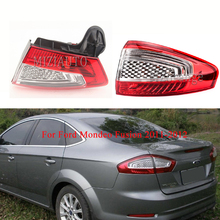 цена на Tail Light for Ford Mondeo Fusion 2011-2012 turn signal taillights assembly Rear Bumper Light Tail Stop Lamp Brake Light