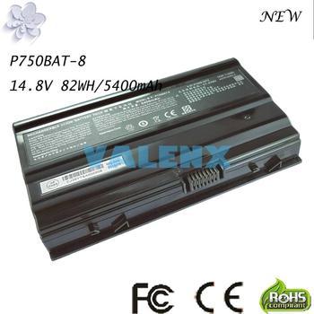 82Wh P750BAT-8 Battery for Terrans Force X599 X799 X599 970M P750BAT-8 6-87-P750S-4271