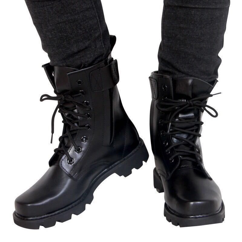 Manufacturers Direct Selling Combat Boots Genuine Product Male Commando 07 Combat Boots QIANGREN-Proof Boots Security Guard Shoe