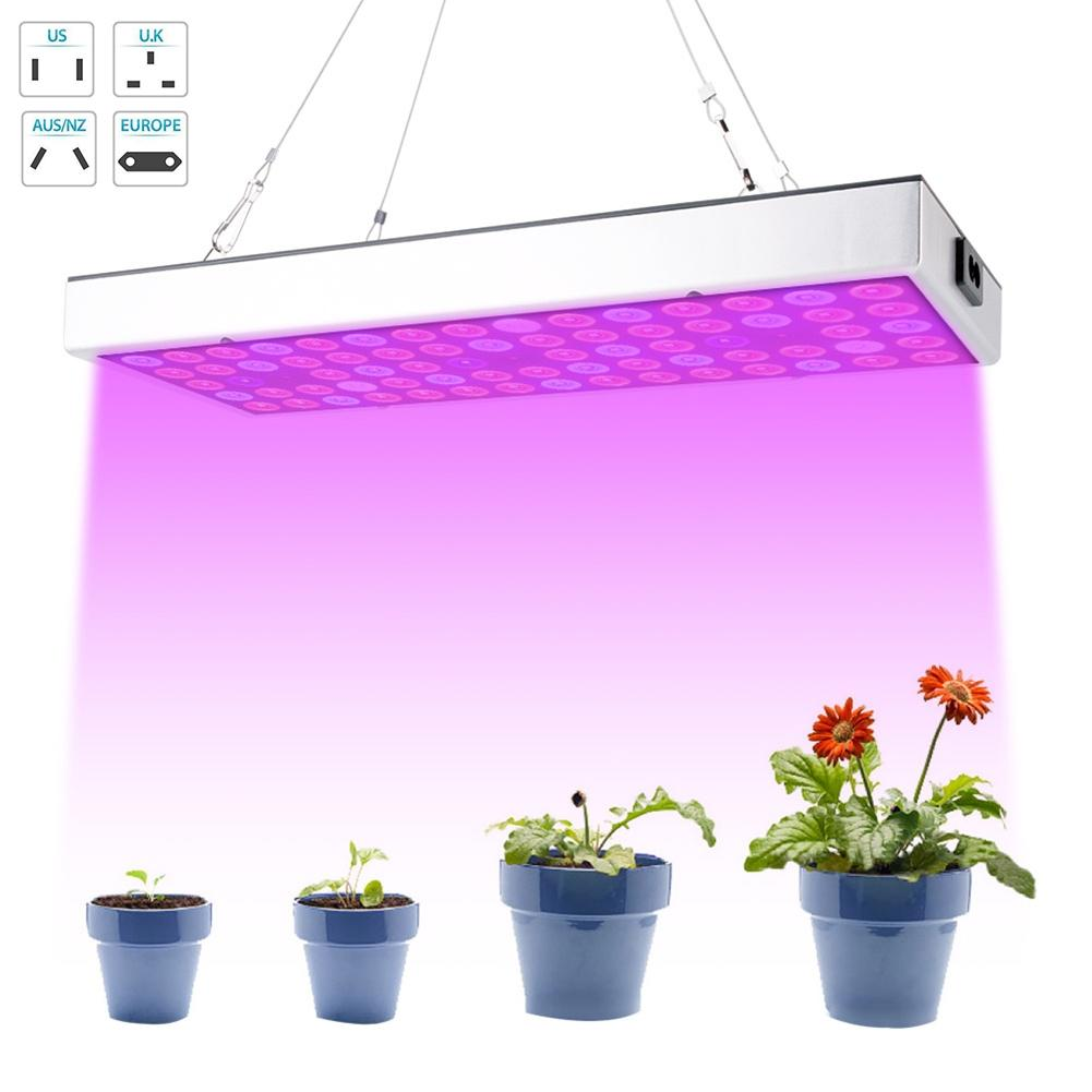 300W LED Hydroponic Growing Light Panel Power Saving Light Suitable For Flower Growing Full Spectrum Temperature Control System