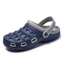 Summer Sandals for Beach Sports 2020 Rain Men's Slip-on Shoes Slippers Female Male Croc