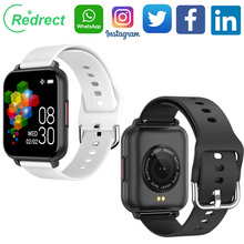 2021 New Fashion Comfortable Redrect Smart Watch, IP67 Waterproof ,8 Sport Modes,Call Reminder, Bluetooth 5.0 Smart Band