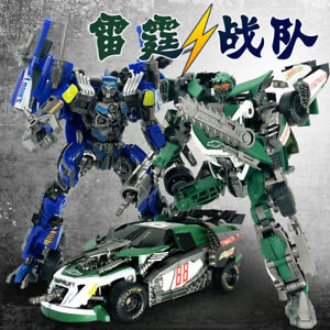 Set of 2 TF Dream GOD06 Topspin Wrecker & GOD07 Roadbuster Transformation Figures