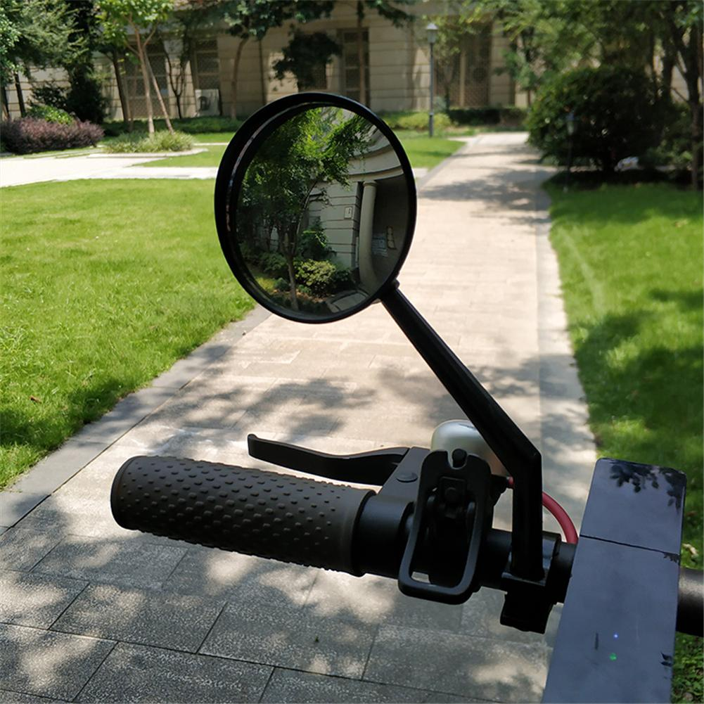 2 PCS Scooter Rearview Mirror Large View Convex Mirror Retroreflector Modification Accessories For Millet