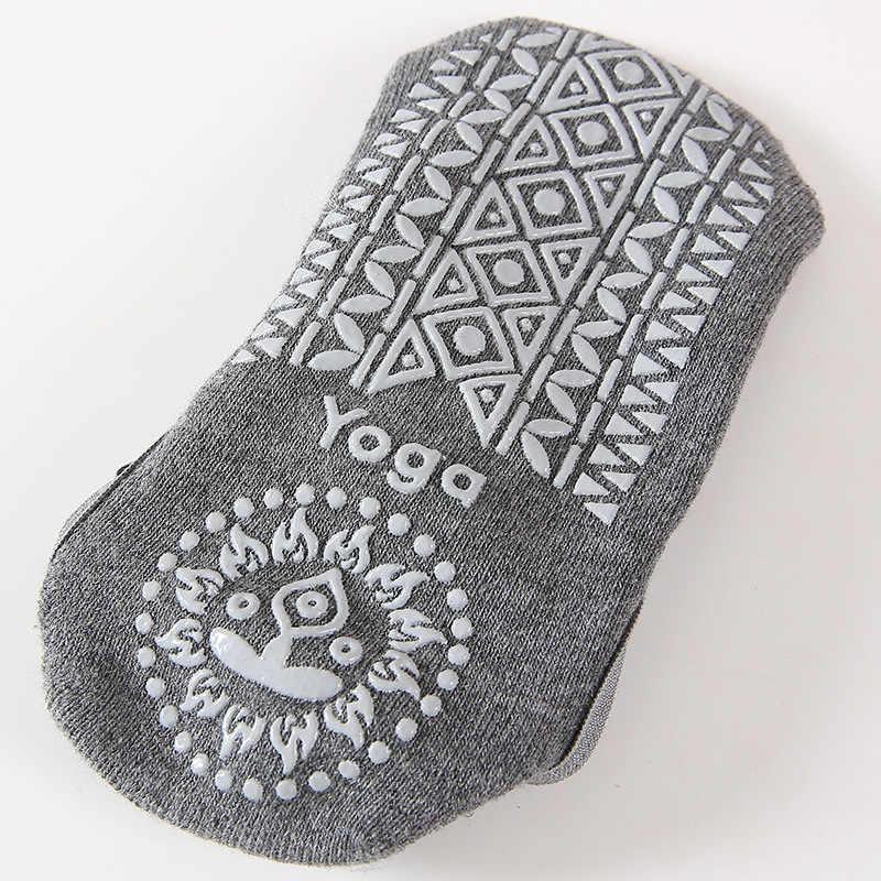 Vrouwen Yoga Anti-Slip Sokken Backless Siliconen Antislip Sokken Dames Ventilatie Ballet Dans Gym Fitness Pilates Katoen sokken