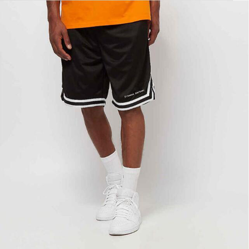 2020 Summer New Men's Sports Fitness Loose Mesh Shorts Jogging Fitness Outdoor Basketball Training Sports Shorts Quick-Drying