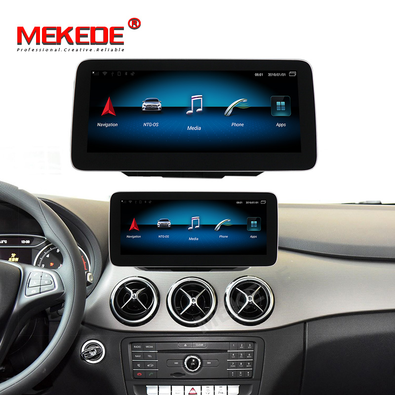 New system!4GB+64GB android 9.0 Car multimedia player for Mercedes Benz B Class W246 2015-2019 NTG 5.0 gps navigation 4g WIFI BT