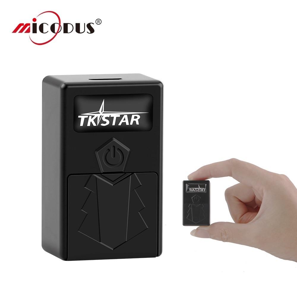 GPS-трекер для детей TKSTAR TK921, миниатюрное устройство слежения в реальном времени, сигнал SOS, бесплатное веб-приложение