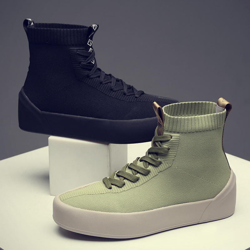 Men/'s Fashion Stockings Shoes High Top Sports Sneakers Boots Outdoor Winter Warm