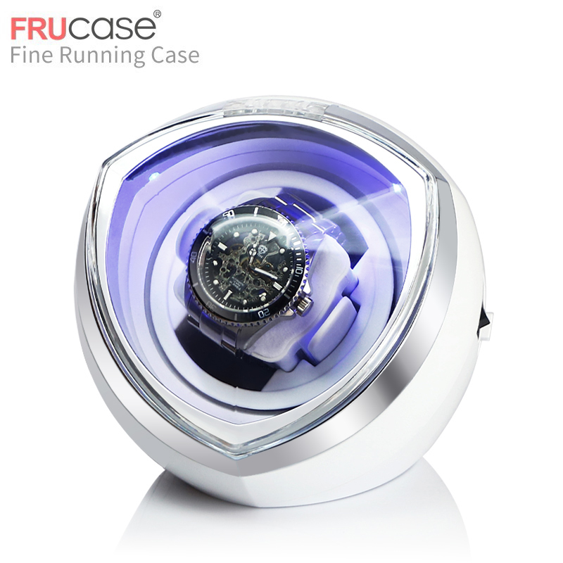 ORUX New Arrival White Single Watch Winder for automatic watches watch box automatic winder storage display