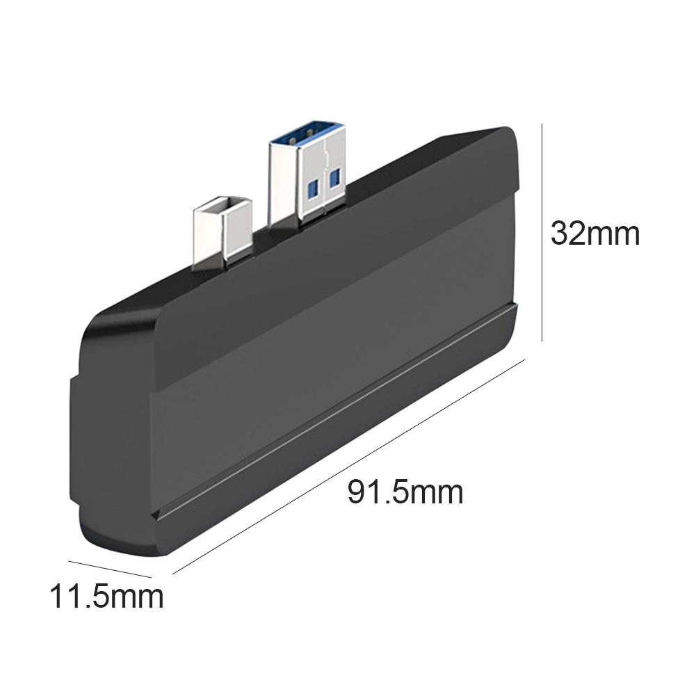 surface pro 3 4 5, adaptador usb,