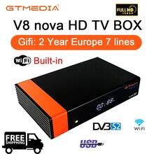 GTMEDIA V8 NOVA DVB-S2 Freesat satellite TV receiver FTA dec